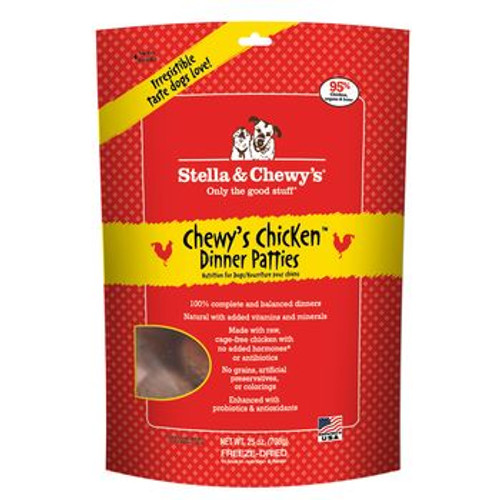 Stella and Chewy Dog FD Chicken Dinner 25oz