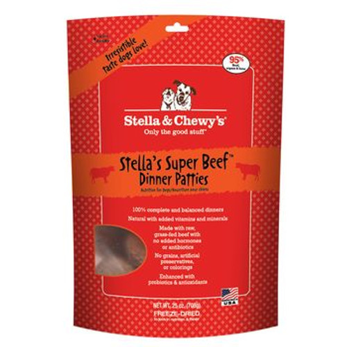 Stella and Chewy Dog FD Super Beef 25oz