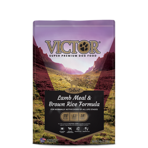 Victor Dog Dry Select Lamb Meal & Brown Rice 5lb