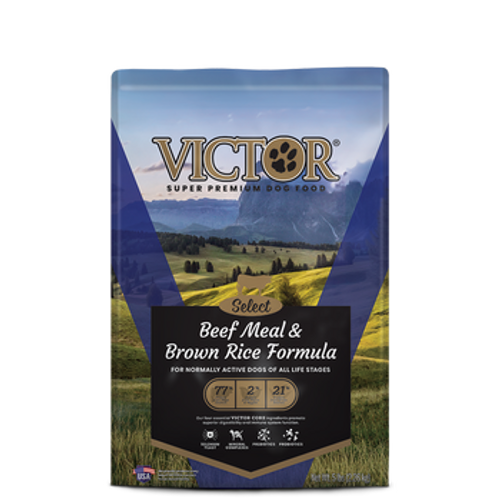 Victor Dog Select Beef Br Rice