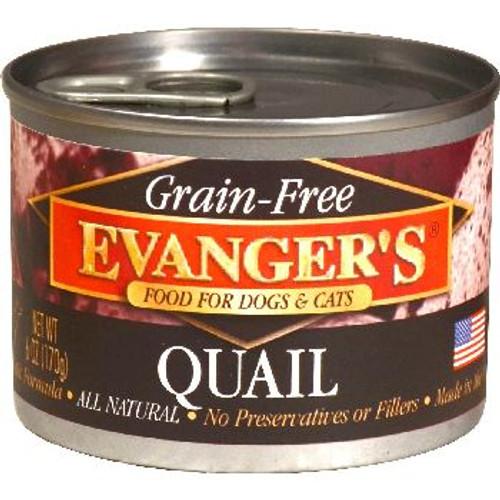 Evangers Can GF Quail