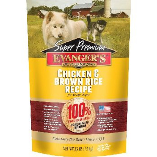 Evangers Dog Chicken and Br Rice