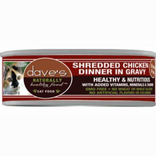 Daves Cat Can Nat Healthy Can Shred Chx Stew 5oz