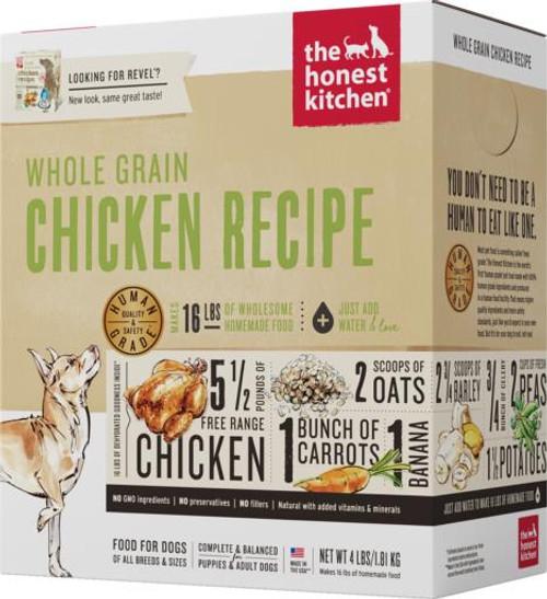 Honest Kit Wholegrain Chicken 4lb