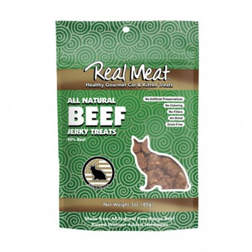 Real Meat Cat Treat Beef 3oz