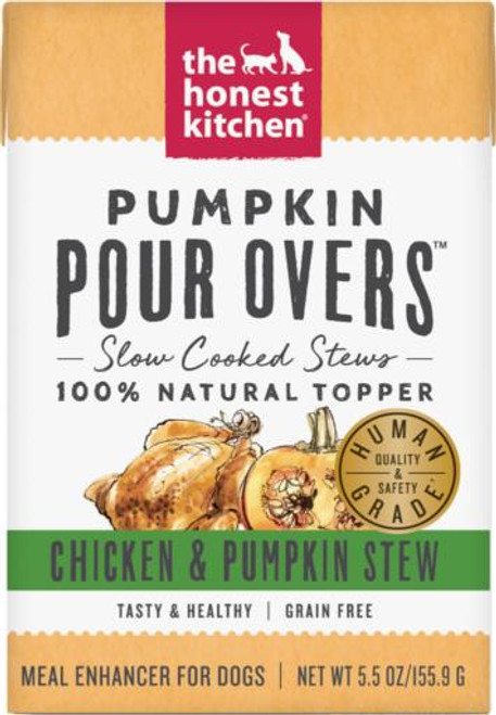 Honest Kit Pour Over Chx Pumpkin Broth 5oz