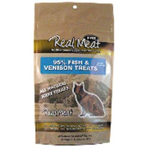 Real Meat Treat Cat Fish Venison 3oz