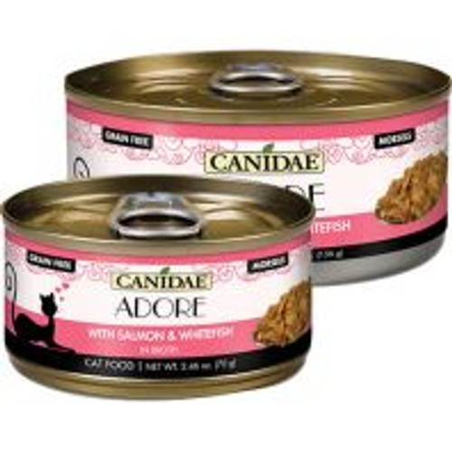 Canidae Adore Salmon WHFS Broth Cat