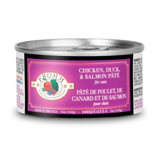 Fromm Cat Can Chx Duck Salmon Pate 5oz
