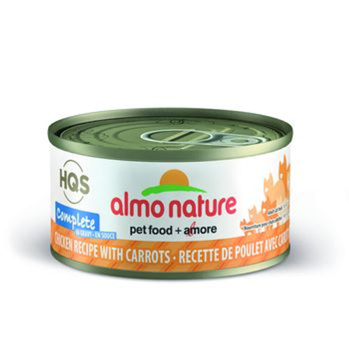 Almo Nature Cat Complete w Carrot 2oz