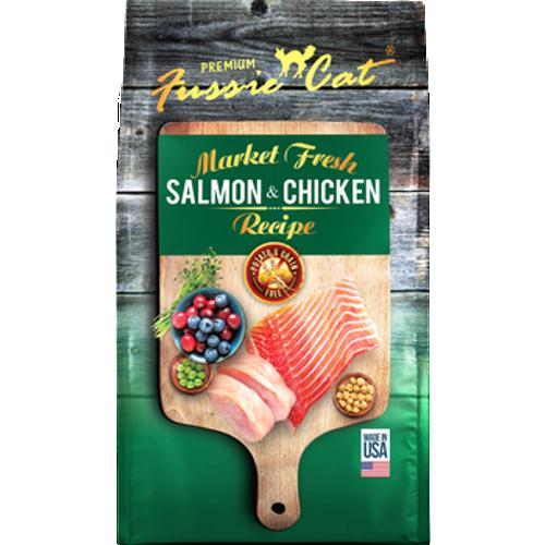 Fussie Cat Kibble Salmon Chicken