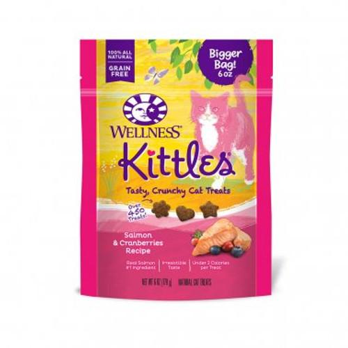 Wellness Kittles Cat Salmon Cranberry 6oz