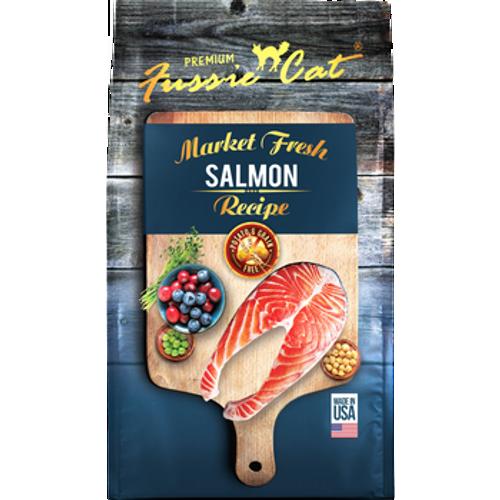 Fussie Cat Kibble Salmon