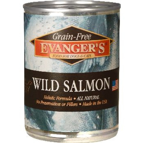 Evangers Dog Can GF Wild Salmon