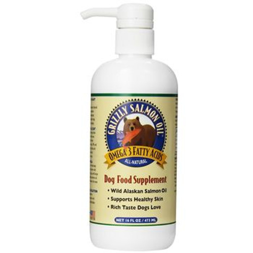 Grizzly Dog Omega 3 Salmon Oil