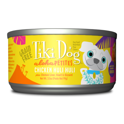 Tikidog Aloha Petite Can Chicken 3oz