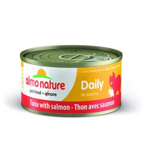 Almo Nature Cat Can Daily Tuna Salmon 2oz