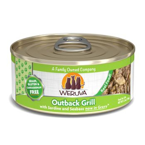 Weruva Cat Can Outback Grill 5oz