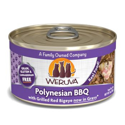 Weruva Cat Can Polynesian BBQ 3oz
