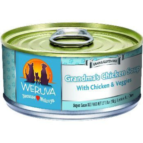Weruva Cat Can Grandmas Chx Soup 5oz