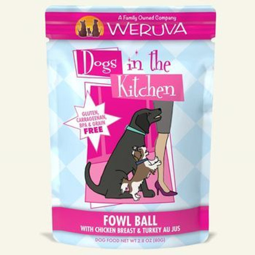Weruva DITK Pouch Fowl Ball 2oz