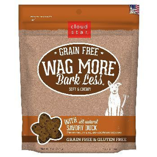 Wag More Soft Chewy GF Duck 5oz