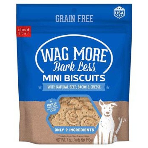 Wag More Bark Less GF Mini Biscui 7oz