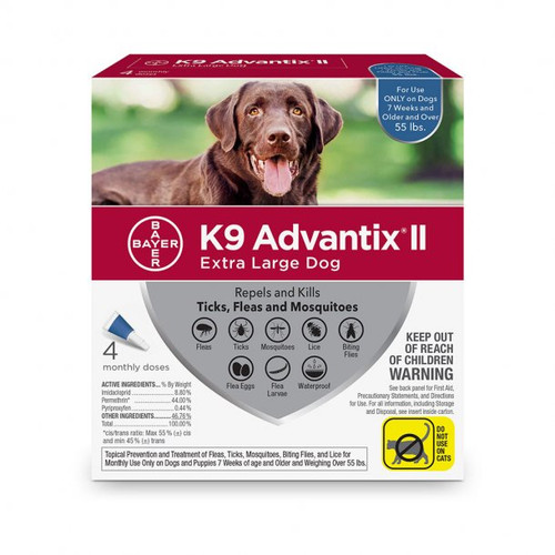 K9 Advantix II XL Over 55lbs
