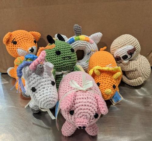 Knit Knacks Knitted Dog Toy