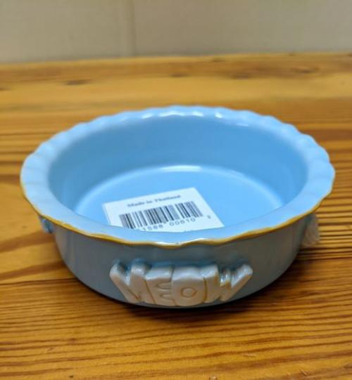 Carmel Ceramica Cat Bowl Celadon