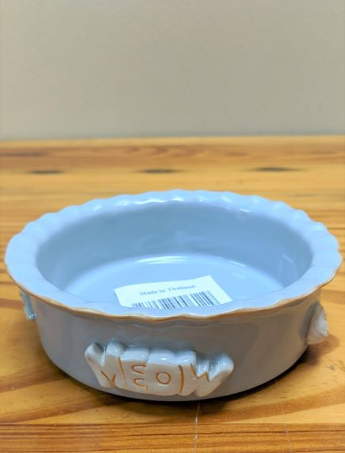 Carmel Ceramica Cat Bowl Grey