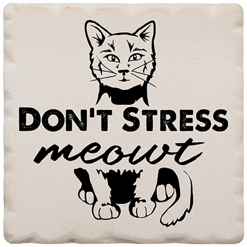 Magnet 2in Don't Stress Meowt