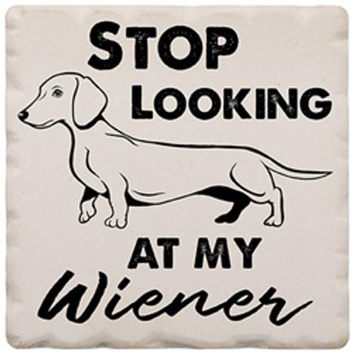Magnet 2in Stop Looking at Wiener