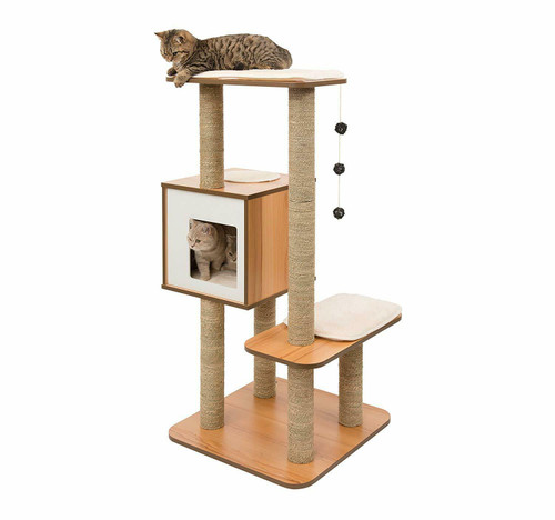 Vesper Cat Furniture VHigh Walnut