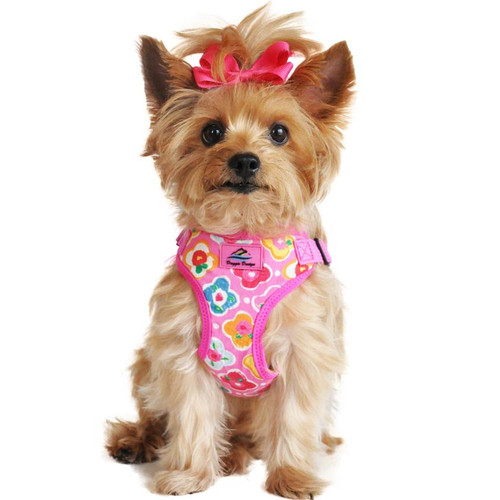 Wrap n Snap Harness Maui Pink Small