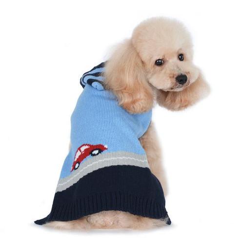 Puppy Pawer Car Sweater