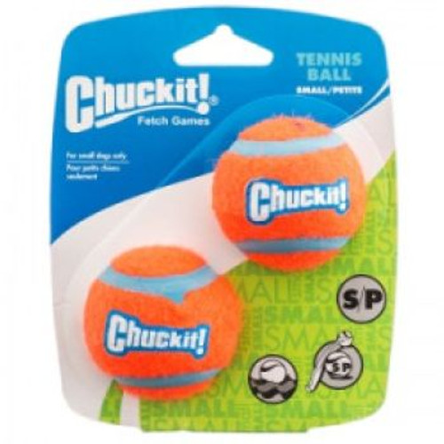 Chuckit Launcher Compatible Tennis Ball Sm 2pk