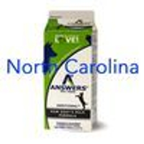 Answers Goats Milk NC 64oz Half Gallon