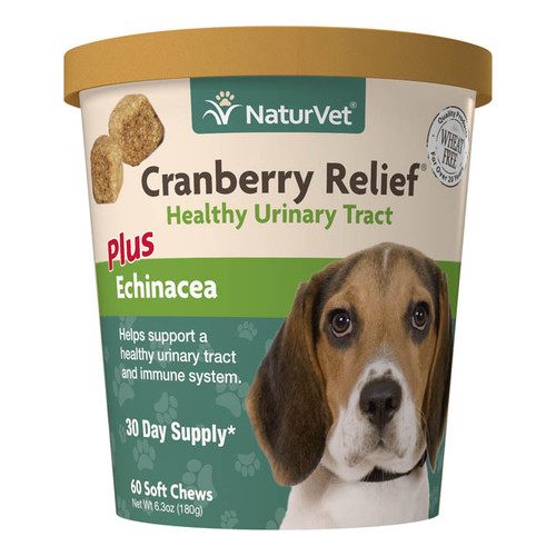 NatureVet Dog Cranberry Relief 60ct