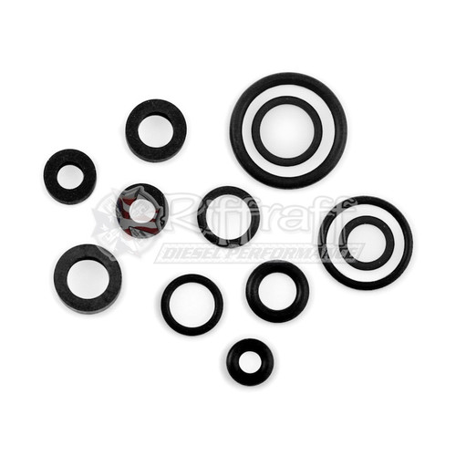 Fuel End Plug Banjo Bolt O Rings For Ford 7 3l 94 03