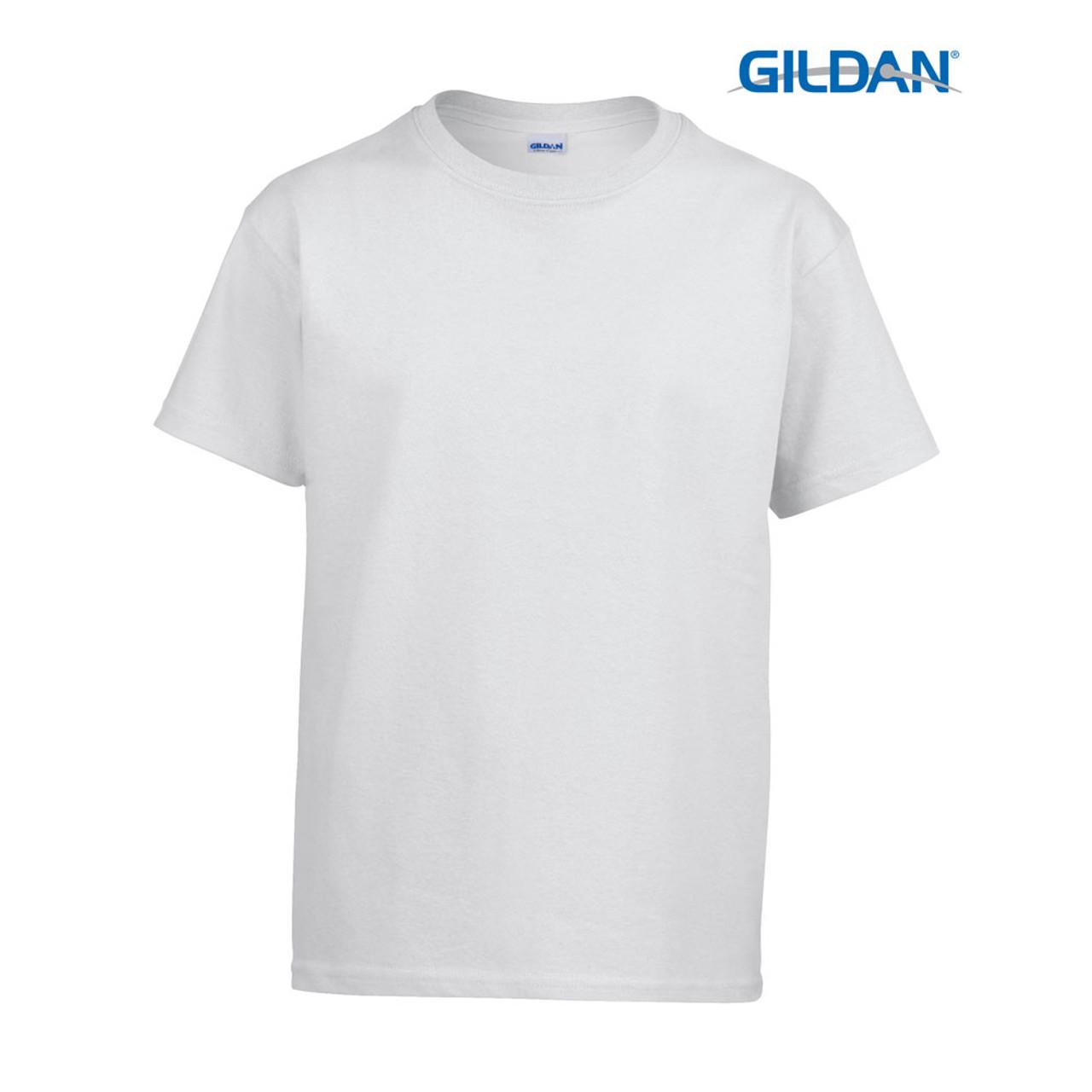 Gildan Youth Kid/'s Child Adult Cotton T-shirt Plain Blank G5000 New Wholesale