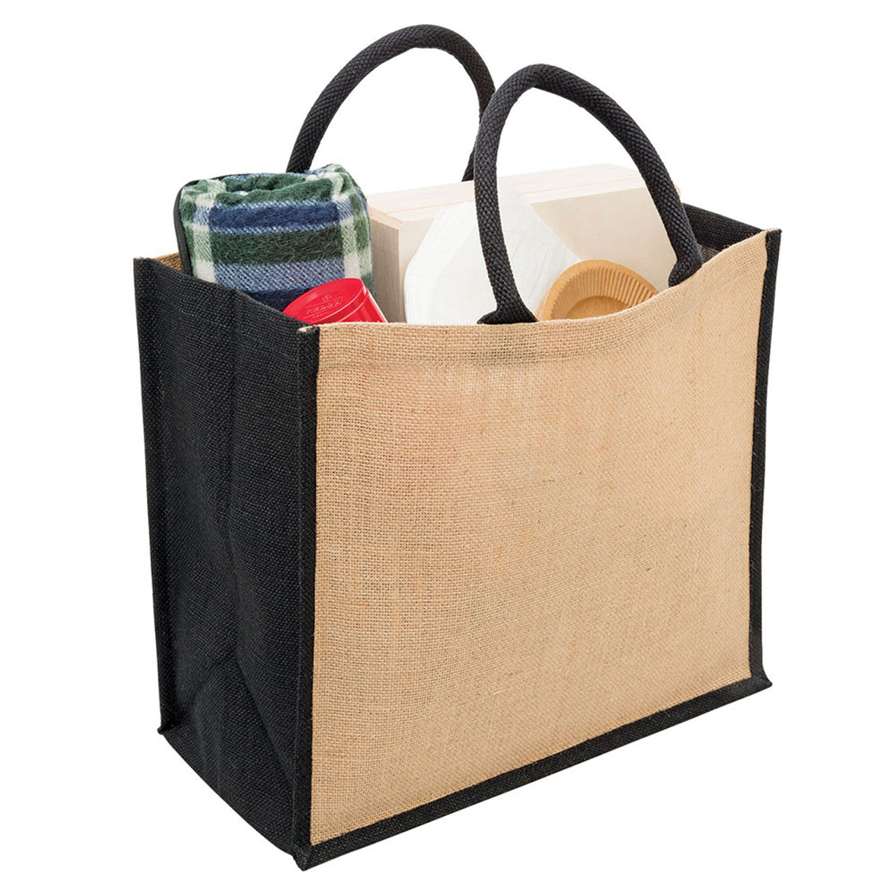fa4b90753af3 buy wholesale online blank eco jute bags shopping grocery bag