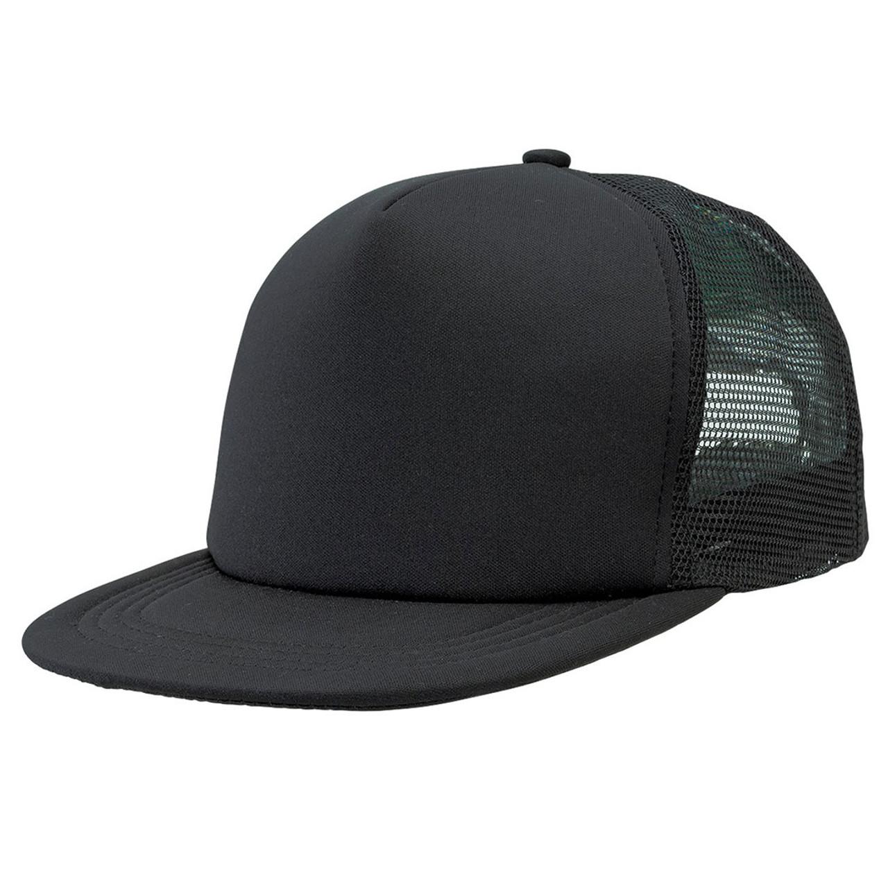 3cc9a68bc96e26 wholesale plain flat peak trucker cap | blank clothing & hats online