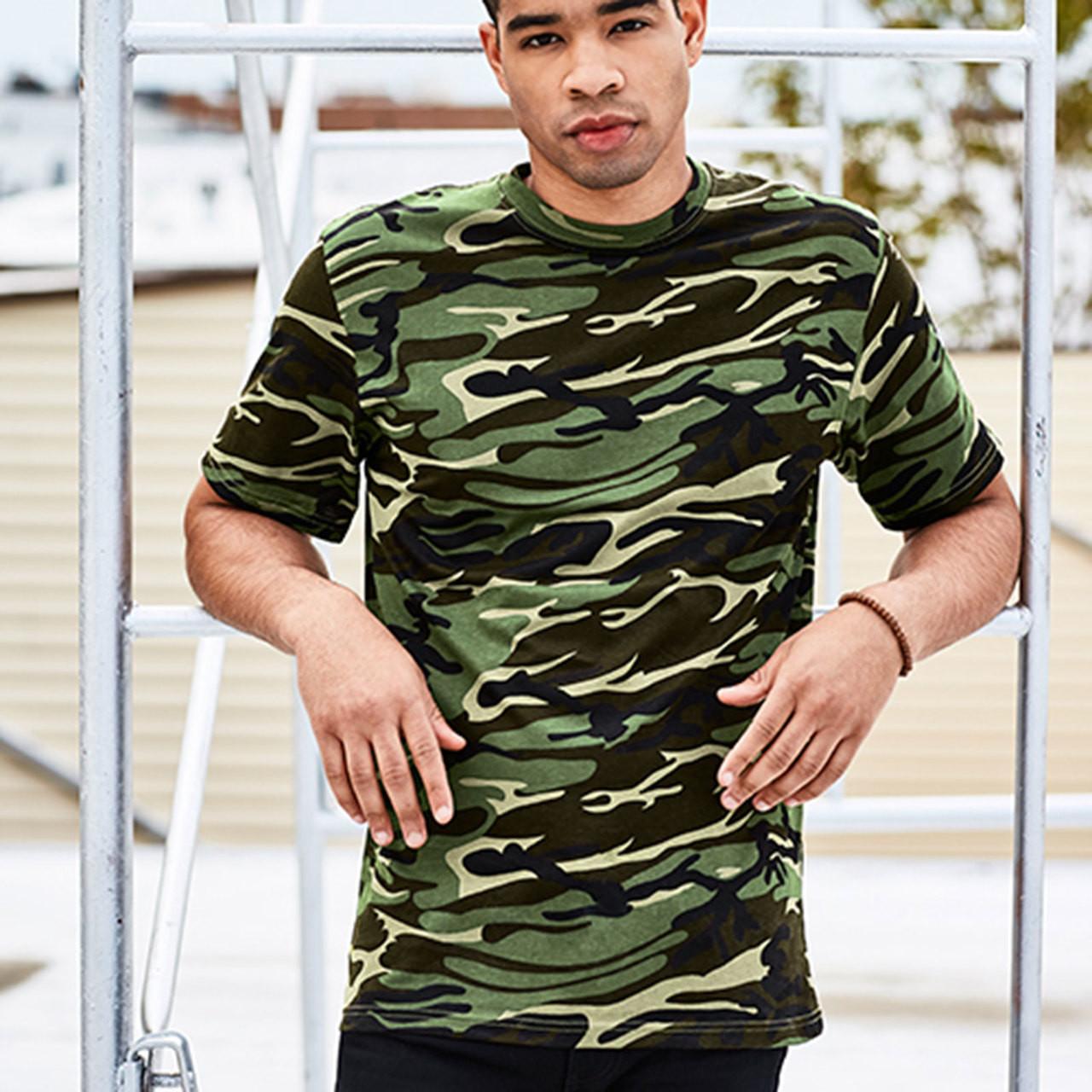 bf0c90930417e4 Unisex Camouflage Tshirt