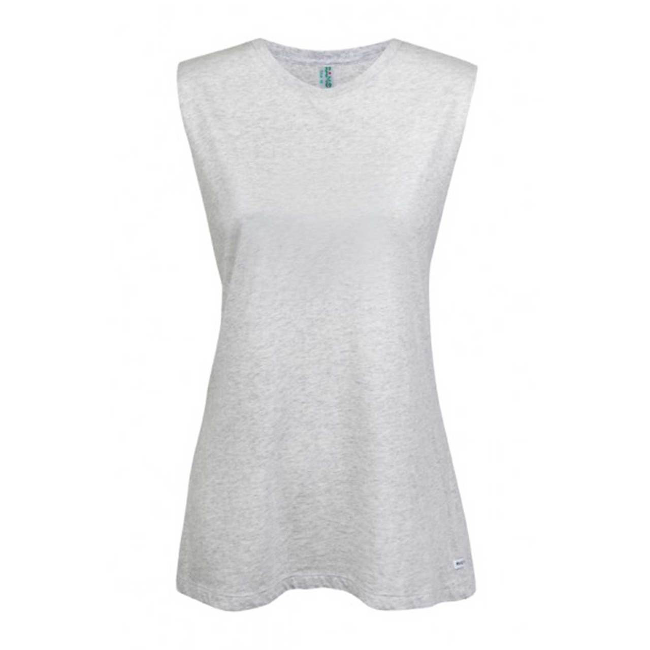 a6770dcec89b2 Ladies Muscle Tee Tank with Low Cut Sides