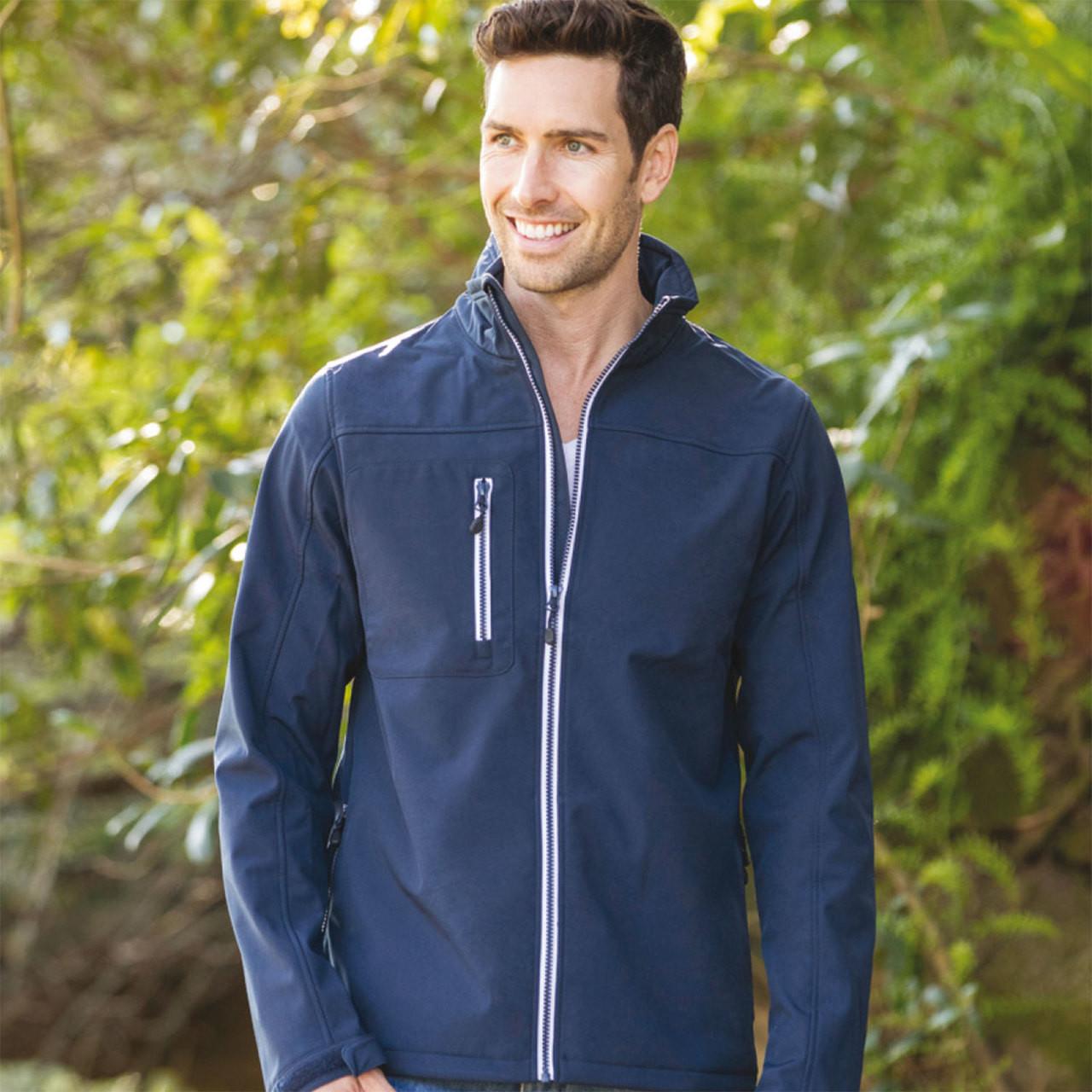 8b2f6c72a ZESTY | Mens Lightweight Softshell Jacket