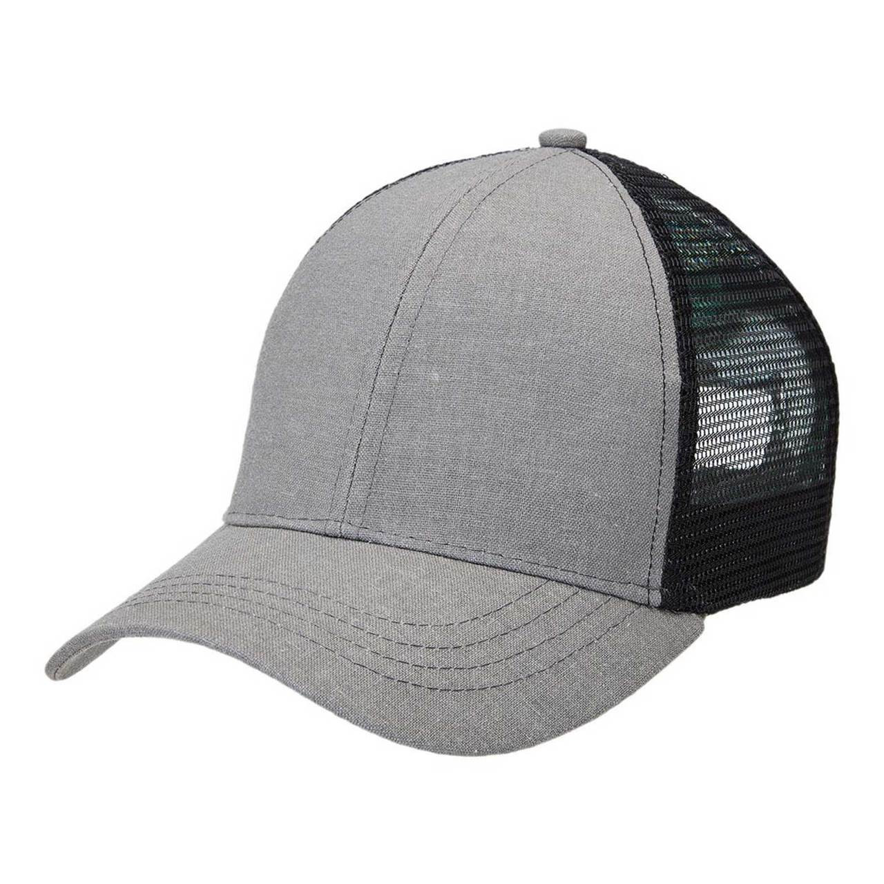 Buy Wholesale Plain Hemp Trucker Caps Online . Bulk Discount Blank ... 744dd67cd255