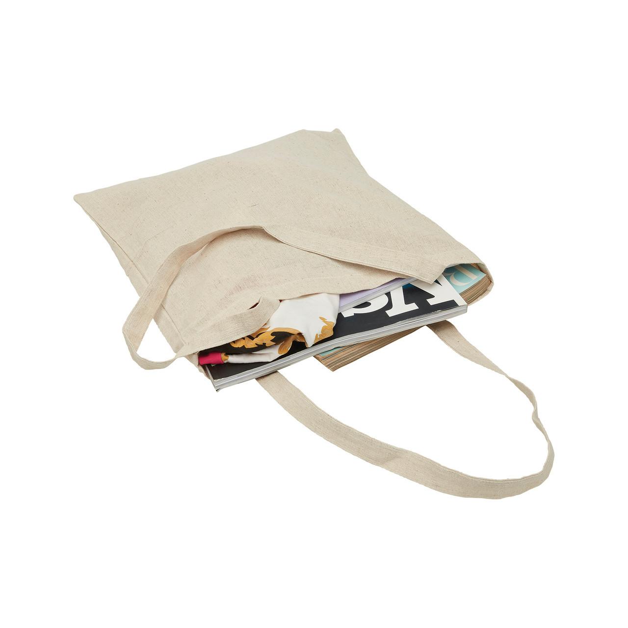 Hemp Cotton Tote Shopping Bag Buy Online Plain Shopper Carry Bags