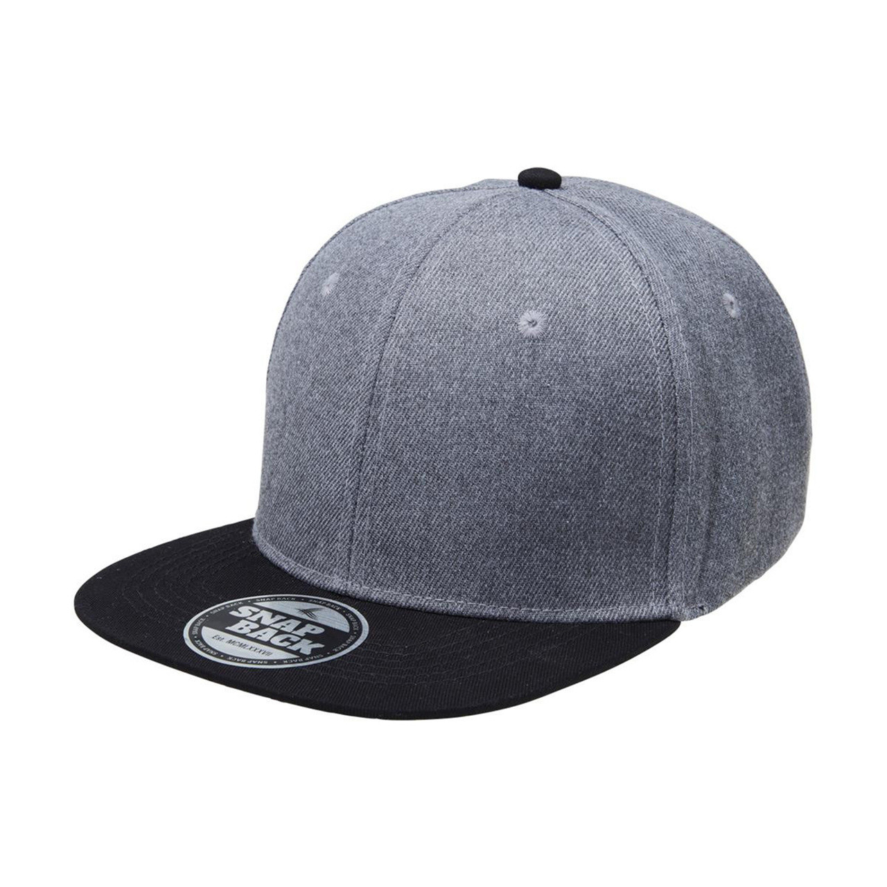 156f92b095765 Wholesale Heathered Two Tone Snapback Caps Online