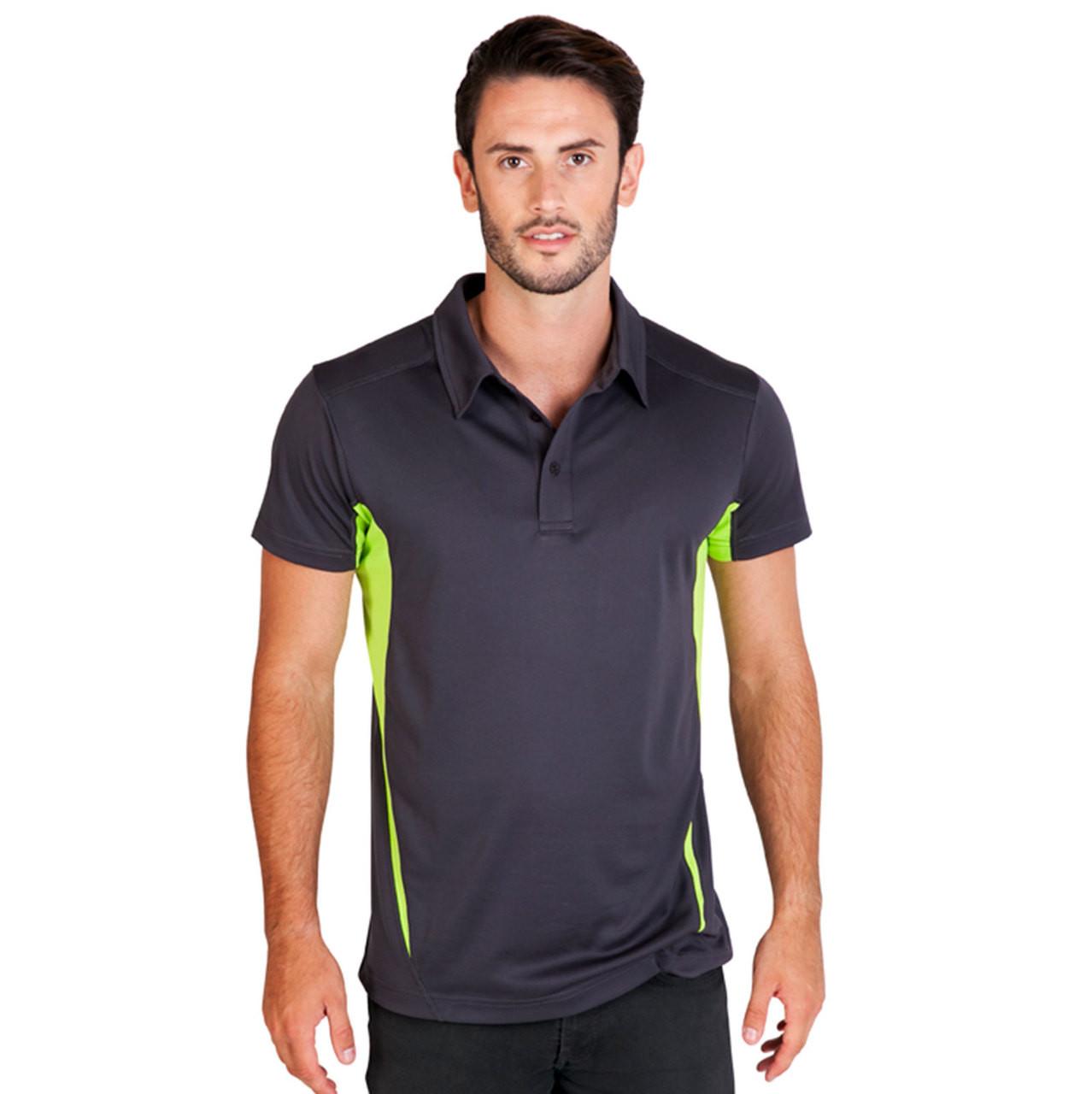 a516b0c91ed Men Cool Dry Contrast Polo Shirts | Buy Plain Sports Wear & Uniform Online